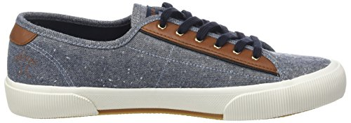 Faguo Birch, Basse Unisex – Adulto Bleu (Oxford/Navy)