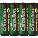 Camelion 10100406R6AA Mignon Super Heavy Duty Akku (4Stück) (Schrumpffolie Verpackung)