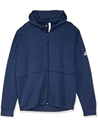 S98794 adidas ESS Linear Full-Zip Hood French Pullover Sweatshirt Herren Männer
