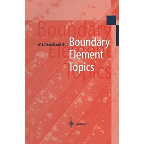 Boundary Element Topics