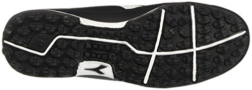 Diadora 650 Iii Tf, Scarpe per Allenamento Calcio Uomo Nero (Nero/Bianco)