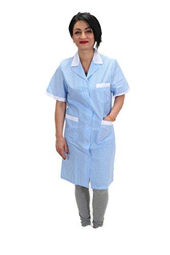 Camici da lavoro donna imprese di pulizia operaia domestica cameriera ai piani (44)