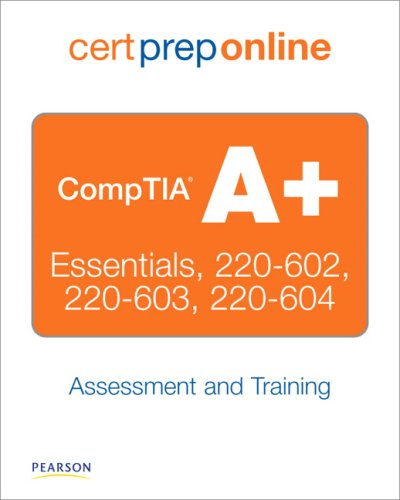 CompTIA A+ Cert Prep Online, Retail Packaged Version