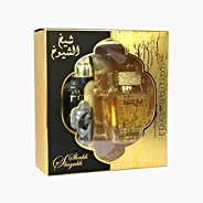 Sheikh Al Shuyukh Luxe Edition Giftset By Lattafa for Men,EDP 100ml / Deo 200ml