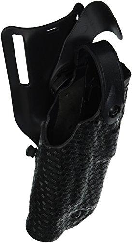 Safariland 6365Level 3Retention als-Pflicht Holster, low-ride, schwarz, Basketweave, rechte Hand, Glock 17mit M3