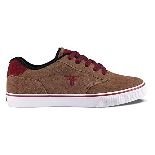 Fallen Slash Skate Shoes midnight blue / gum / bleu Taille Marron