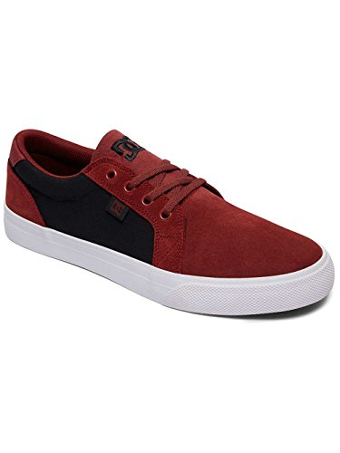 DC Shoes Council SD, Baskets Basses Homme Rouge - Burgundy/Tan