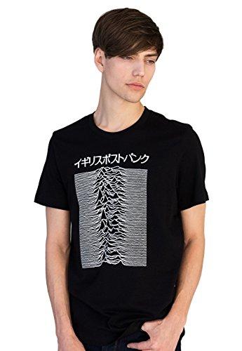 Strand Clothing Japanese T Shirt - Pulsar Artwork Joy Division used on Unknown Pleasures - British Post-Punk