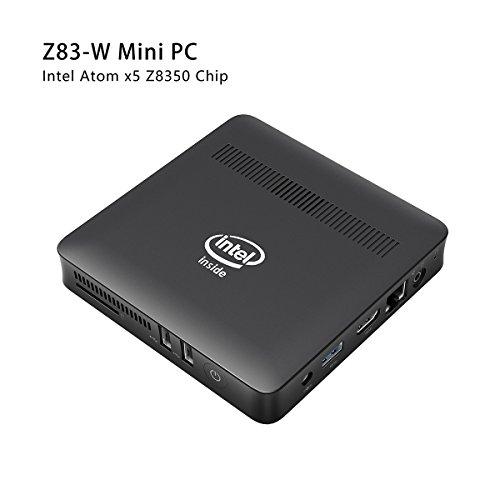 Foto Z83-W Mini PC Windows 10 Desktop x5-Z8350 Intel Atom 2GB/32GB...