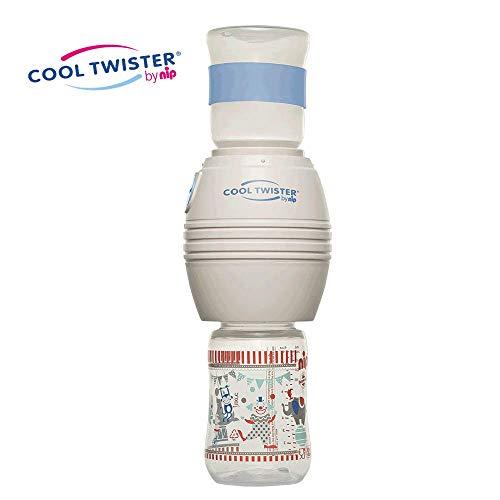 nip Fläschchenwasser-Abkühler Cool Twister: Kühlt kochendes Wasser exakt auf 40, 50, 60 oder 70° ab, BPA-Frei, ab 0 Jahren