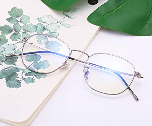 Anti-blu-ray Computer Glasses Frame Female Eye Protection Flat Mirror Personality Glasses Male C