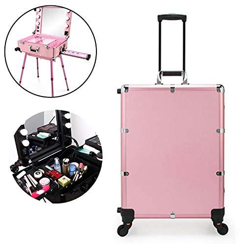 HLDWXN Beauty Case Maleta Tipo Trolley