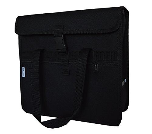 FAHRRADTASCHE Erwachsene Satteltasche Gepäckträgetasche Doppel 2x15l / Einzelne 1x15l 27. Uno - Schwarz