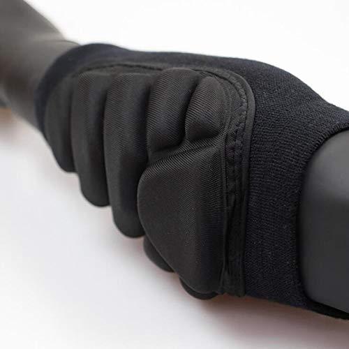 Wxtreme Professionelle Atmungsaktive Ellbogenschützer Matte Ski Ellenbogenschutz Basketball Volleyball Armwärmer Trockenkomfort Doppelte Druckbeaufschlagung Einzigartige Modellierung (Größe : XL)