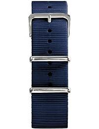 Oxygen - EX-N-STR-22-NA - Bracelet Mixte - Nylon Marine