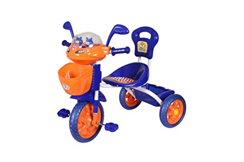 HLX-NMC KIDS SPACE SHIP TRICYCLE BLUE/ORANGE  available at amazon for Rs.2340