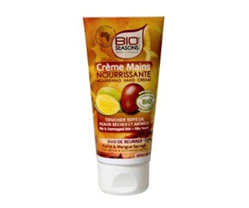 Bio Seasons - Une Crème Mains Nourrissante Peaux sèches & Abîmées en 50ml