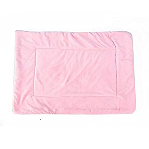 Washable Pet Warm Soft House Pad Mat Lovely Candy-colored Mat for Dogs and Cats (XL - 100*75cm (39.4