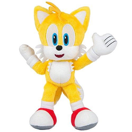 Und Sonic Tails (Sonic the Hedgehog T22530TAILS Plüschspielzeug, Tails-Figur, ca. 20,3)