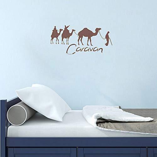 Liebestieraufkleber Large Caravan And Camel Sticker Sticky Tourist Agency