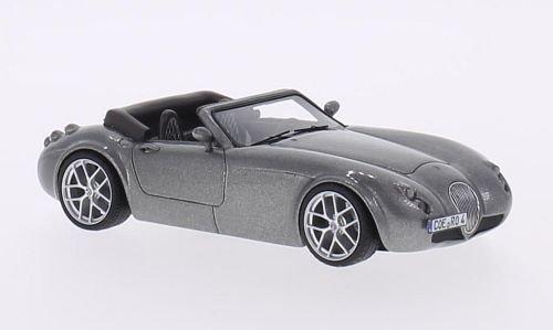 wiesmann-roadster-mf4-met-grau-modellauto-fertigmodell-schuco-pror-143