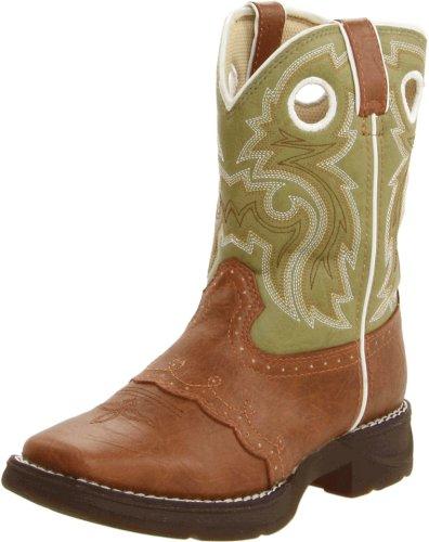 Durango Boots Bottes Lil 'durango Kids Enfants Western Bottes d'équitation (en différentes variantes) Tan Green