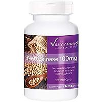 Nattokinase 100mg - 120 Tabletten - ! FÜR 4 MONATE ! - vegan - 2000 FU
