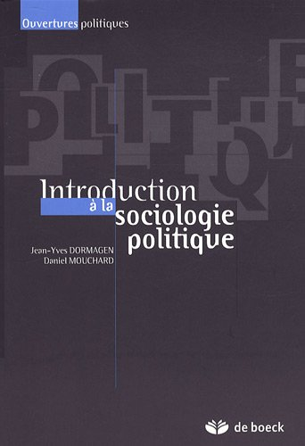 Introduction  la sociologie politique