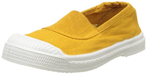 Bensimon Tennis Elastique, Baskets Basses Mixte Enfant Jaune (Jaune)