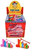 8 x Xylophon- Mitgebsel Give Away Kindergeburtstag Jungen Jungs Mädchen Spielzeug Party Bag filler Gastgeschenke