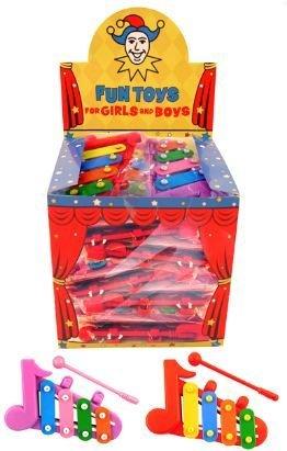 8 x Xylophon- Mitgebsel Give Away Kindergeburtstag Jungen Jungs Mädchen Spielzeug Party Bag filler Gastgeschenke (Jungen Spielzeug Bag Für Party)