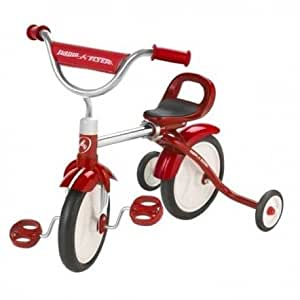 Radio flyer - Tricycle évolutif Rouge en métal Radio Flyer Jouet enfant 18 mois à 3 ans