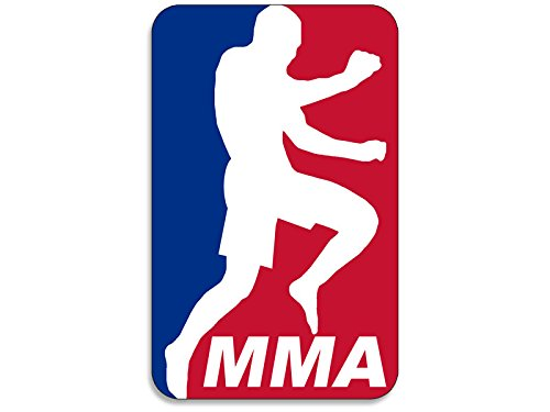 MLB Style MMA-Aufkleber (Flying Knie Kampf Martial Arts UFC)