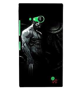 Citydreamz Wolverine Hard Polycarbonate Designer Back Case Cover For Microsoft Nokia Lumia 730