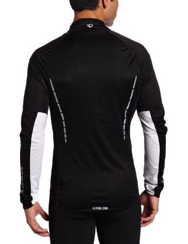 Pearl Izumi Herren Regenjacke Pro Aero Jacket Black/White