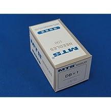 100 Agujas para máquina de coser INDUSTRIAL compatible con DBX1 16X231, Brother, Singer,