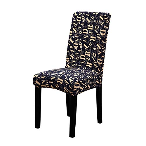 Bunter Druck-Stuhl bedeckt Spandex-Grün-Elastische Stuhl-Abdeckungen Weiche Abdeckungen für die Stühle, die Abendessen-Restaurant Wedding Sind YLFF Universal Size