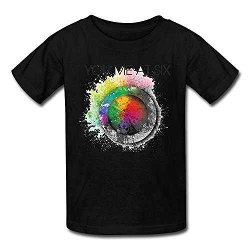 Youth Cute Screw Neck You Me At Six T-Shirt XLarge