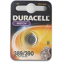Duracell 389/390 - Pilas (óxido de plata, Button/coin, 1.5V, 389/390)