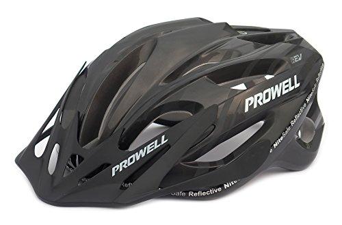 Prowell F59 Fahrradhelm Schwarz. Gr. L (59-65 cm)