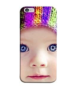 PrintVisa Cutie 3D Hard Polycarbonate Designer Back Case Cover for Apple iPhone 6