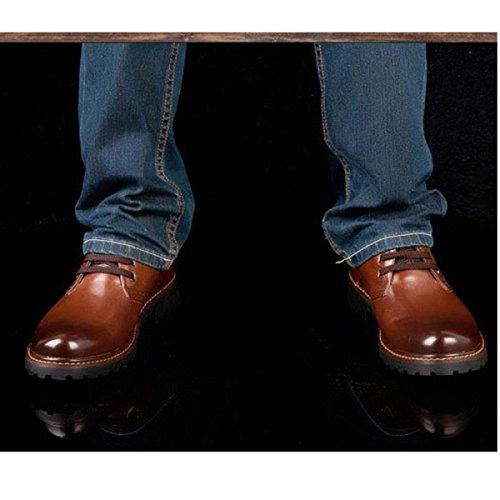 Chaussures 4 Sport Travail Qvrge En De Derby Professionnelles Plein 8EOffx