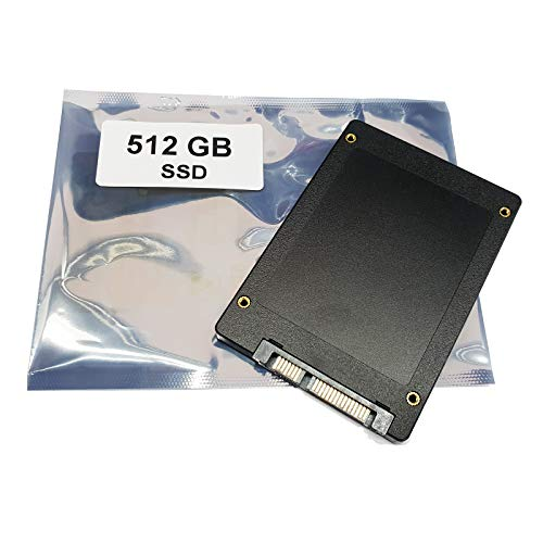"Kompatibel für Asus R753UB-TY132T R753UV R753UB-TY128T | 512GB SSD Festplatte 2,5"" SATA3 Solid State Drive Compatible for"