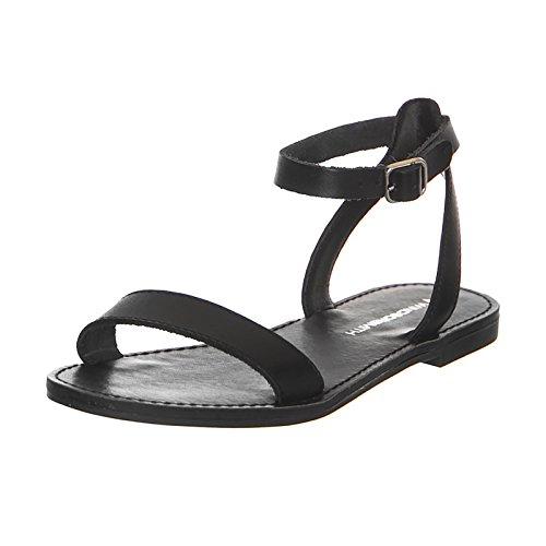 Windsor Smith Sandali Birch Black Leather (39)