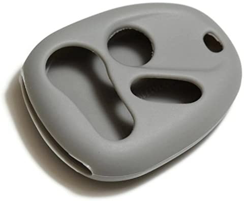 dantegts Gray Silikon Schlüsselanhänger Cover Case Smart-Fernbedienung Beutel Schutz Schlüssel
