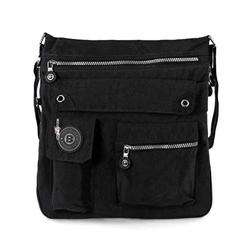 Bag Street Umhängetasche Bodybag schwarz