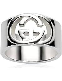 Gucci Damen-Ring Silver Britt Sterlingsilber Gr.58 YBC19048200158