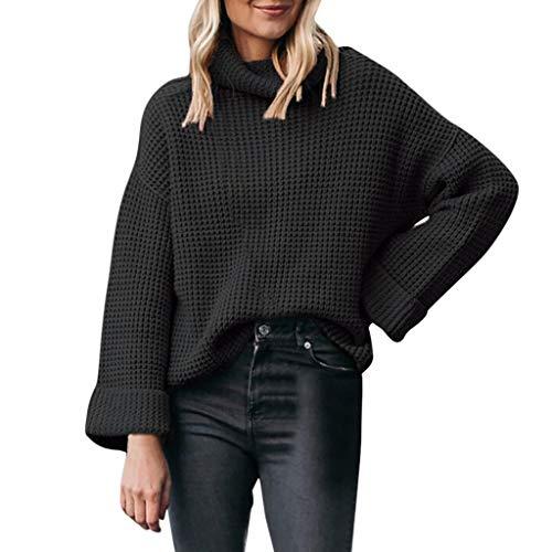 SoonerQuicker Suéter Jerséis Mujer Invierno Suéter