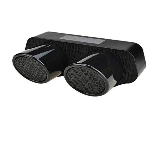 tsprecher Neuer drahtloser Doppellautsprecher Subwoofer Leistungsstarker Watt Wireless 360° Sound Speakers mit Wasserfest Stoßfest Mikrofon und Reinem Bass ()