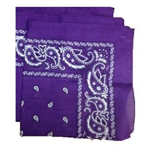 Arpoador Trend bike headscarf men and women outdoor headscarf cotton square headgear (Purple)